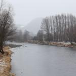 28_Dunajec_widziany_z_mostu_w_Kroscienku
